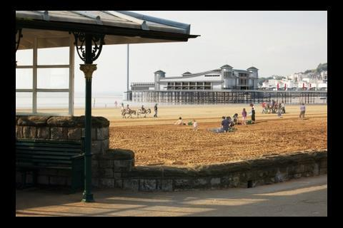 South view of Weston-Super-Mare's new pier